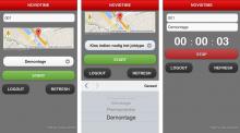 Tijdsregistratie app