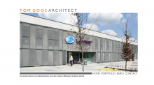 Web design voor architect Tom Goos