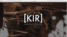 Website voor Atelier Kir